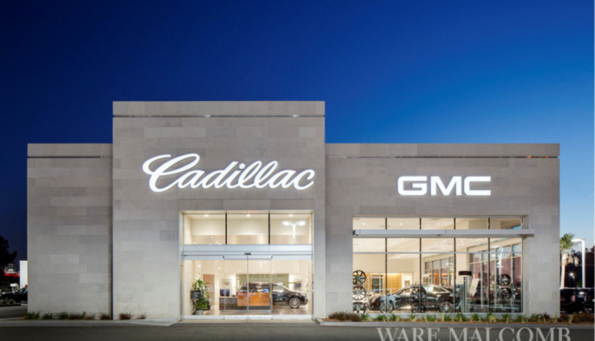 Ware Malcomb Announces Completion of Allen Cadillac Auto Dealership